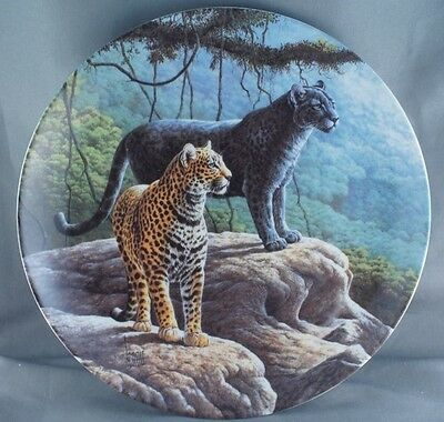 Lee Cable The Jaguar Collector Plate