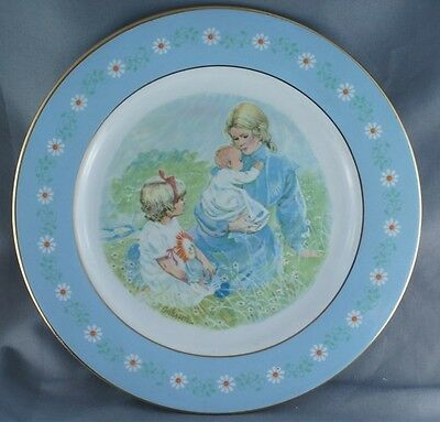 Avon Tenderness Commemorative Collector Plate 1974