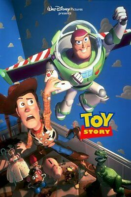 "Toy Story 1 Movie Poster 24""X36"""