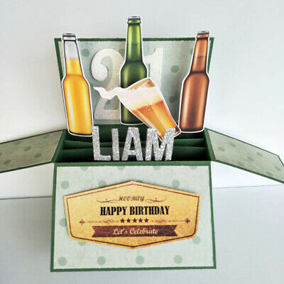 Name Personalized 3d Handmade card -  2017 Graduation Card | Graduation gift