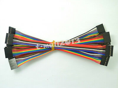10pcs New 2.54mm 8P 20cm Female to Female Dupont Jumper Wire Cable for Arduino