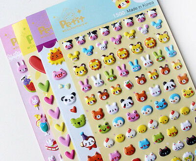 3D puffy bubble stickers scrapbook Cartoon birthday gift collection Hot JGUS