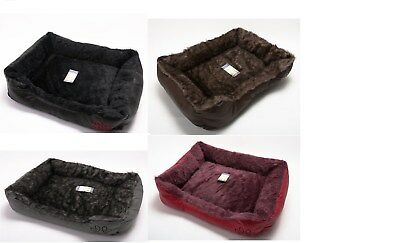 Soft Comfy Insulated Washable Pet Very Warm Basket Bed with Fleece Cheap Cosy