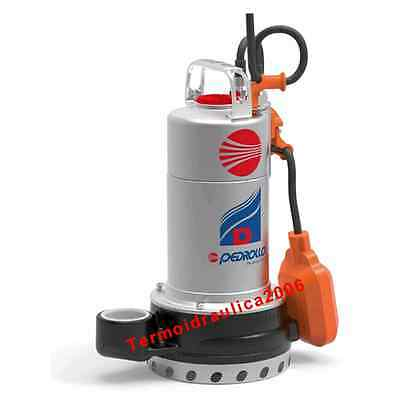 Submersible DRAINAGE Pump for Clean Water Dm8-N 0,75Hp 230V 50Hz 5M D Pedrollo