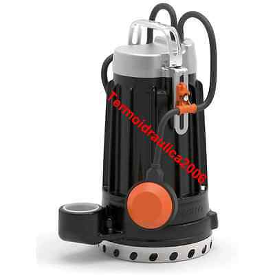 Submersible DRAINAGE Electric Pump clear water DCm30 1,5Hp 230V DC Pedrollo 10m