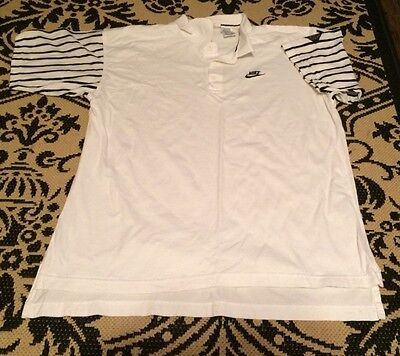 Vintage Nike Supreme Court Tennis Rugby Polo Agassi Court Challenge Large