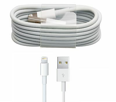 NEW QUALITY APPLE LIGHTNING SYNC & CHARGER USB DATA CABLE FOR iPhone 5/5S/6/6S