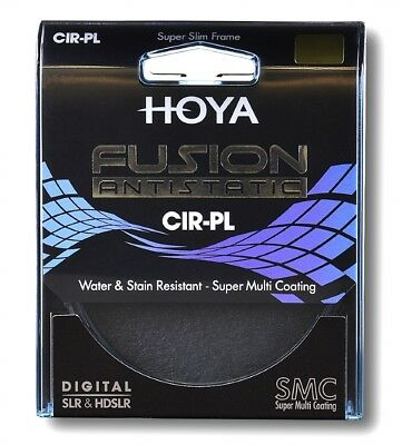 Hoya 77mm Fusion Anti-Static MC Coated Circular Polariser Polarising CPL Filter