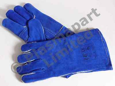 ARC and MIG welders gloves gauntlets weld Leather Kevlar high quality PP10002