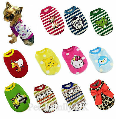 XMAS Chihuahua yorkie toy teacup mini small dog kitten pet warm fleece coat new