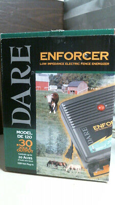 Dare DE120 110 V Low Impedance Electric Fence Energizer, FREE SHIPPING