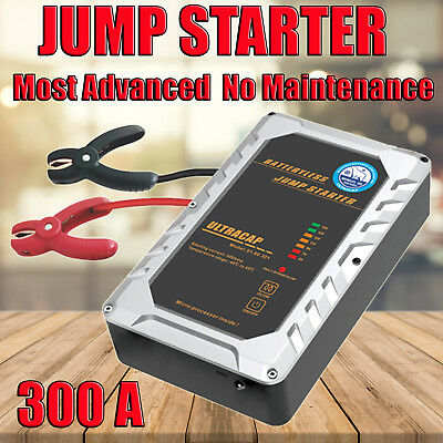 300A Jump Starter Maintenance Free Capacitor Based 12V Super compact No battery