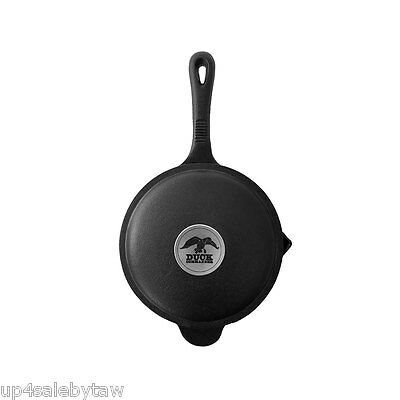 DUCK COMMANDER Cast Iron 2 qt Sauce Pan w Lid