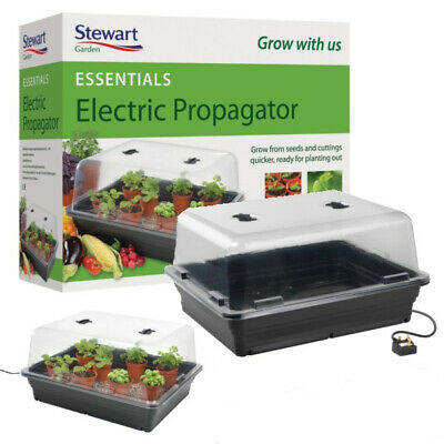 Stewart 52cm Essentials Electric Propagator (Black)