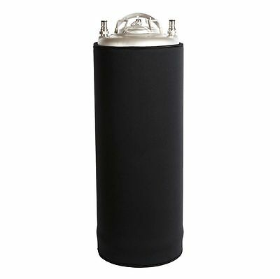 Neoprene Keg Parka for 5 Gallon Kegs - Jacket Keeps Keg Cold for over 4 Hours!
