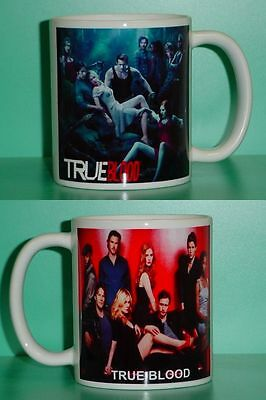 TRUE BLOOD Vampires - Bill, Sookie, Eric - with 2 Photos Collectible GIFT Mug 01
