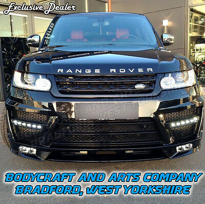 Range Rover Sport Front Rear Bumper Body Kit Exhaust Upgrade Lumma Style Fitted