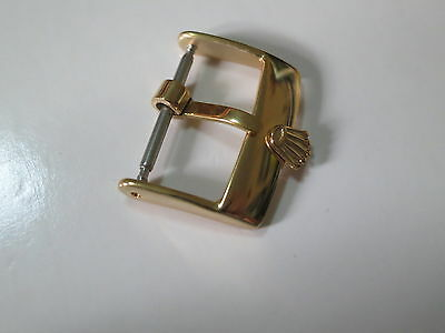 16mm Gold Plated Watch Strap Buckle For Rolex
