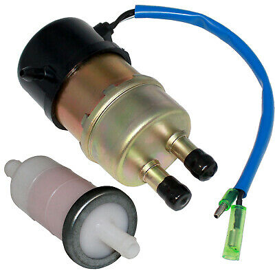 Fuel Pump & Filter Fit Kawasaki Kaf620E Kaf620H Mule 3010 4X4 2008 & Before