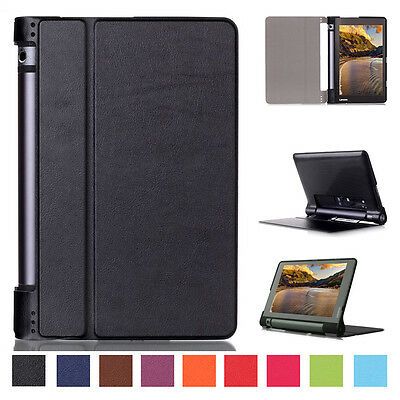 "Ultra Slim Leather Flip Cover Smart Case For Lenovo Yoga Tab 3 8"" 850F Tablet PC"