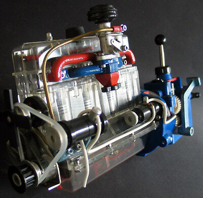 HOHM CHASSIS MODEL ENGINE + CLUTCH TRANSMISSION SET Brand New Old Stock Cutaway!