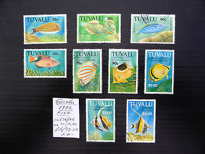 TUVALU 1992 Fish As Described Fine/Used NEW LOWER PRICE FP5241
