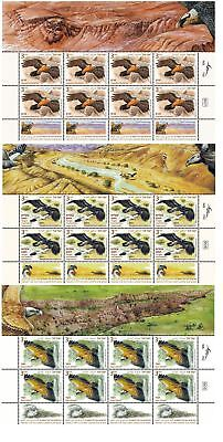 3 Israel SHEET 2013 Collection Stamps Eagles paras racham Philately Birds Falcon