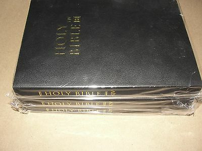 (Set Of 3)The Holy Bible King James Version Old And New Testament 3-Black