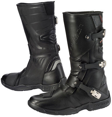 CORTECH Accelerator XC Adventure Touring Motorcycle Boots (Black) Choose Size