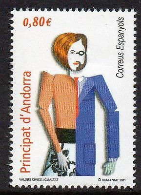 ANDORRA (SPAIN) MNH 2011  Equality