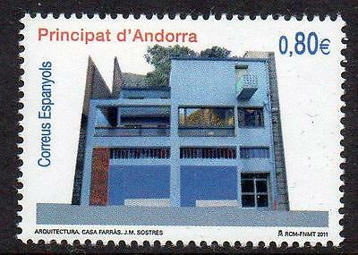 ANDORRA (SPAIN) MNH 2011 Architecture