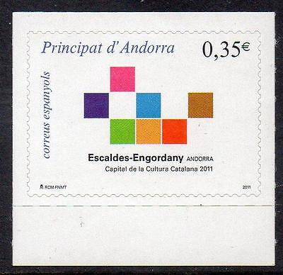 ANDORRA (SPAIN) MNH 2011 Escaldes-Engordany - Capital of Catalan Culture 2011
