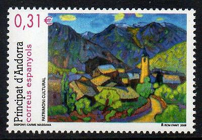ANDORRA (SPAIN) MNH 2008 Fine Arts - Painting