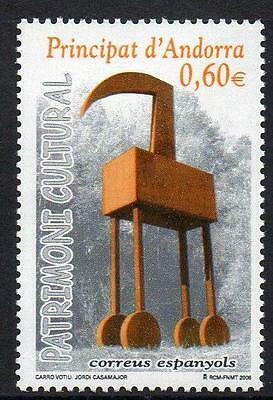 ANDORRA (SPAIN) MNH 2008  Fine Arts