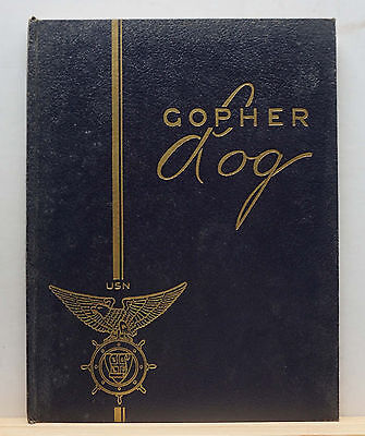 1943 U. of Minnesota Naval Reserve Officers Training Corps Yearbook Gopher Log