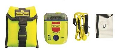 KTi AU Coded 406MHz GPS Personal Locator Beacon (PLB SA2G) bonus Armband