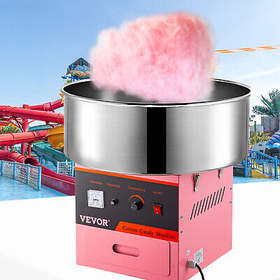 1030W Commercial Electric Cotton Candy Floss Machine A Barbe A Papa