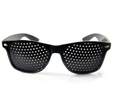 Pinhole Glasses Eyesight Vision Care Improve Sunglasses Eyeglasses Eyewear X1