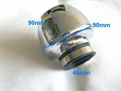 Performance 48MM Chrome Air Filter Motorcycle ATV GO kART SCOOTER MOPED