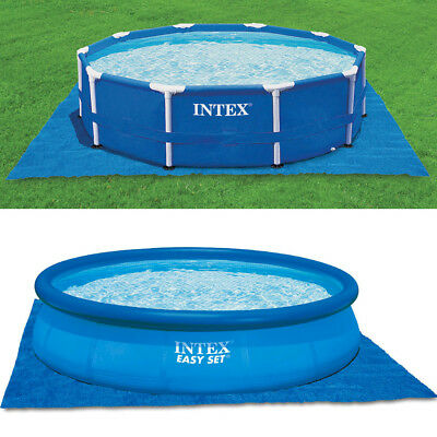 INTEX Bodenschutzplane Bodenplane für Easy Set Quick Up Swimming Pools 472x472cm