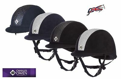 Charles Owen Sparkly YR8 Riding Hat - PAS 015