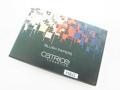 Catrice Cosmetics Limited Edition Geometrix Blush Paper Rougepapier Nr. C01 Red