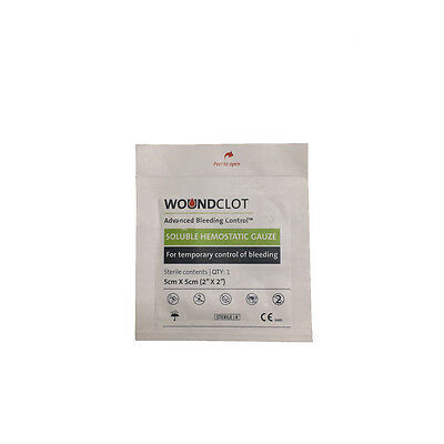 WoundClot Soluble Hemostatic Gauze Blood Stop Bandage Israeli First Aid EMS IFAK