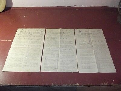 3 Ww2 U.s.a.t. Borinquen 1945 On Board News Papers: The Deepwater Daily