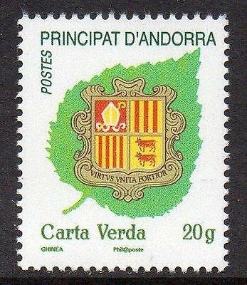 ANDORRA (FRENCH) MNH 2011 Coat of Arms of Andorra