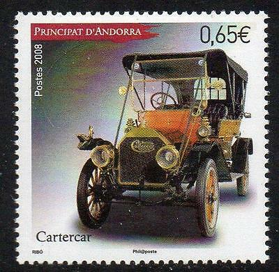 ANDORRA (FRENCH) MNH 2008 Old Cars