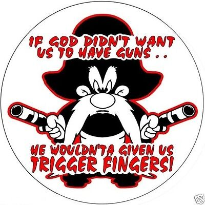 Yosemite Sam ...Trigger Fingers Sticker