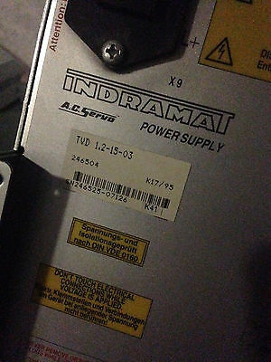Indramat TVD 1.2-15-03 SERVO POWER SUPPLY MODULE