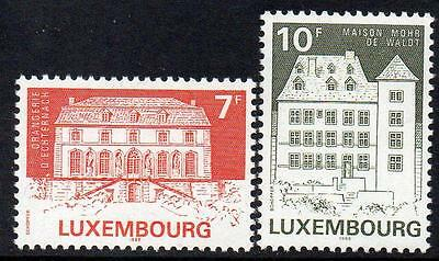 LUXEMBOURG MNH 1985 Restored Buildings