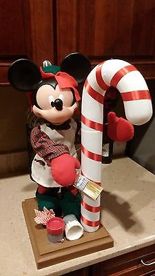 Disney Santas Best Animated Mickey Mouse Motionette Christmas